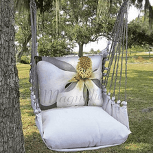 "Magnolia Hammock Chair Swing ""Latte"" 