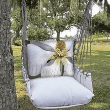 "Magnolia Hammock Chair Swing ""Latte"" | Magnolia Casual | LTSJ504-SP-3"
