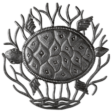 Turtle Recycled Steel Drum Wall Art | Le Primitif