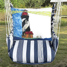 "Lighthouse Hammock Chair Swing ""Marina"" 
