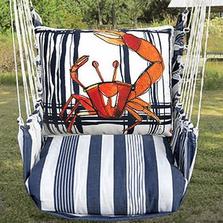 "Crab Hammock Chair Swing ""Marina"" | Magnolia Casual | MARR705-SP-2"