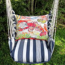 "Lobster Hammock Chair Swing ""Marina"" | Magnolia Casual | MAFCLB-SP-2"