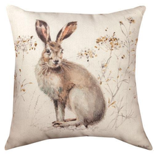 Rabbit Indoor/Outdoor Pillow | Manual Woodworkers | SLAWWR