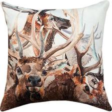 Herd of Elk Indoor/Outdoor Pillow | Manual Woodworkers | SLHELK