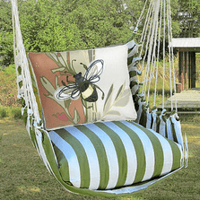 "Bee Hammock Chair Swing ""Summer Palm"" 