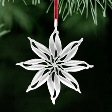 Fish Polished Pewter Ornament | Polaris | Lovell Designs | LOVOR219