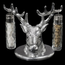 Deer Salt Pepper Shakers | Arthur Court Designs | ACD104038 -2