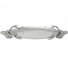 Elk Bust Centerpiece Tray | Arthur Court Designs | 104112