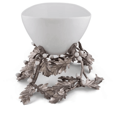 Oak Leaf and Acorn Centerpiece Bowl | Vagabond House | VHCL375LA