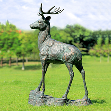 "Deer Garden Sculpture ""Forest Prince"" 