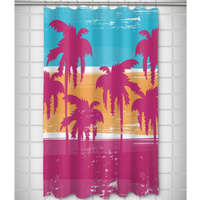 Palm Trees Shower Curtain | Island Girl Home | SC783