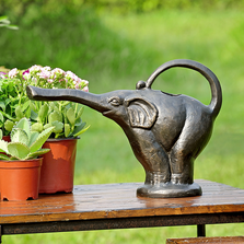 Elephant Standing Watering Can   34818   SPI Home
