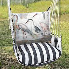 "Crane Hammock Chair Swing ""True Black"" | Magnolia Casual | TBSW706-SP-2"