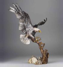 "Eagle Bronze Sculpture ""Spirit of Liberty"" | Mark Hopkins | 15043"