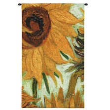 "Sunflower Tapestry Wall Hanging ""Flowers of the Sun"" 