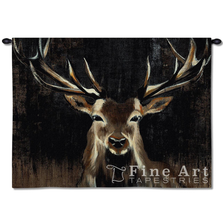 "Deer Tapestry Wall Hanging ""Young Buck"" 