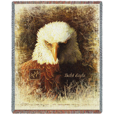 Bald Eagle Tapestry Throw Blanket | Pure Country | pc7210T