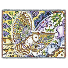 Barn Owl Tapestry Throw Blanket | Pure Country | pc8046T