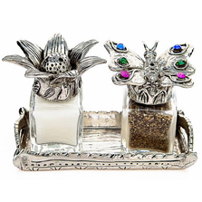 Butterfly Venus Flower Salt Pepper Shakers | Silvie Goldmark | SGM26