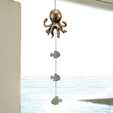 Octopus and Fish Wind Bell Chime | 34811