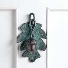 Acorn and Oak Leaf Door Knocker | SPI Home | 34817