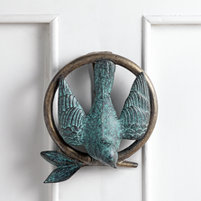 Bird and Branch Door Knocker | SPI Home | 34806