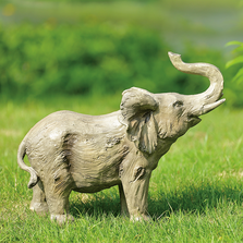 "Elephant Sculpture ""Savanna Strider"" 