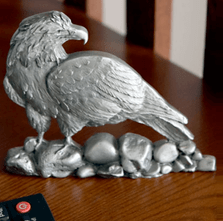 Bald Eagle Pewter Figurine | Andy Schumann | SCH125111