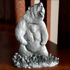 Grizzly Bear Pewter Figurine | Andy Schumann | SCH125103