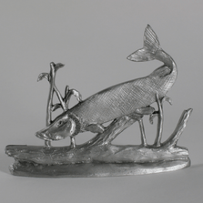 Musky III Pewter Figurine | Andy Schumann | SCH125115