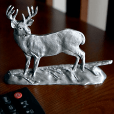 Whitetail Deer Pewter Figurine | Andy Schumann | SCH125118