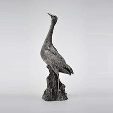 Whooping Crane Pewter Figurine | Andy Schumann | SCH125117