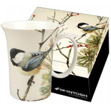 Chickadee Bone China Mug | McIntosh Trading Chickadee Mug | Robert Bateman Lively Pair Mug -3