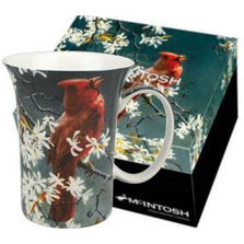 Spring Cardinal Bone China Mug | McIntosh Trading Cardinal Mug | Robert Bateman Spring Cardinal Mug -3