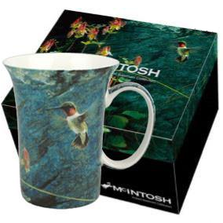 Hummingbird Bone China Mug | McIntosh Trading Hummingbird Mug | Robert Bateman Hummingbird Mug -3