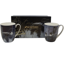 Loon Bone China Mug Set of 2 | McIntosh Trading Loon Mug | Robert Bateman Loon Mug Set
