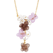 French Bouquet Floral Pendant Necklace | Michael Michaud Jewelry | SS9220BZGWP