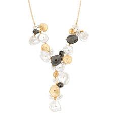River Pebble Necklace | Michael Michaud Jewelry | SS9218BZMULWP