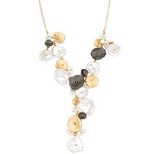 River Pebble Necklace | Michael Michaud Jewelry | SS9218BZMULWP