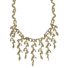 Petite Leaf Statement Necklace | Michael Michaud Jewelry | SS9201BZWP