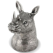 Rhino Bottle Opener Pewter | Vagabond House | B009R