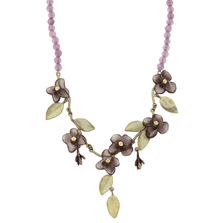 Wood of Life Purple Jade Necklace | Michael Michaud Jewelry | SS9205BZPJ