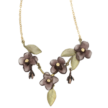 Wood of Life Mini Statement Necklace | Michael Michaud Jewelry | SS9206BZ