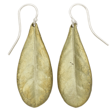 Wood of Life Leaf Wire Earrings | Michael Michaud Jewelry | SS3303BZ
