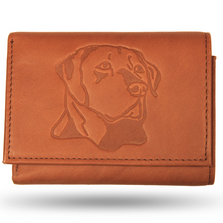 Labrador Leather Men's Trifold Wallet
