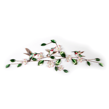 Bovano Hummingbird and Dogwood Swag, Small Wall Art | W4714