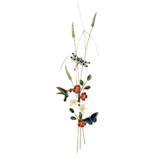 Bovano Hummingbird, Dragonfly, Butterfly Bough Wall Art | W4702