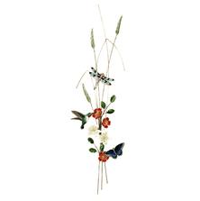Bovano Hummingbird, Dragonfly, Butterfly Bough Wall Art | W4702