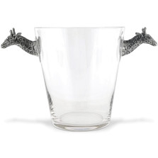 Giraffe Glass Ice Bucket | Vagabond House | C103G