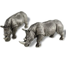 Rhino Salt Pepper Shakers | Vagabond House | C116R